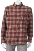 Woolrich Men's Trout Run Classic-Fit Plaid Dobby Button-Down Shirt