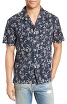 Current/Elliott Men's Dandelion Print Cotton Cabana Shirt