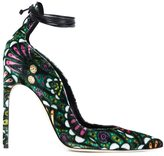 Brian Atwood ankle wrap pumps