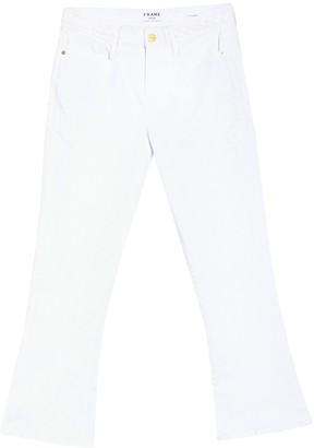 Frame Le Crop Mini Bootcut Braided Waist Jeans