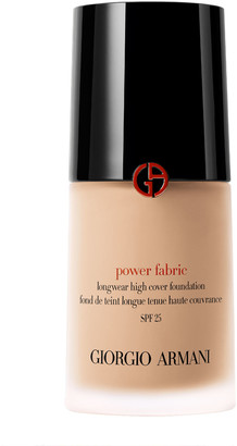 Giorgio Armani Power Fabric Foundation 30Ml 3.25 (Light, Warm/ Golden)