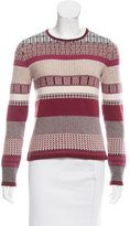 Carolina Herrera Patterned Cashmere Sweater