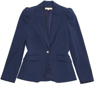 Michael Kors Navy Wool Jackets