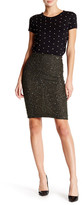 Alice + Olivia Ramos Embellished Fitted Skirt