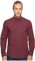 Ben Sherman Long Sleeve Gingham Woven Shirt