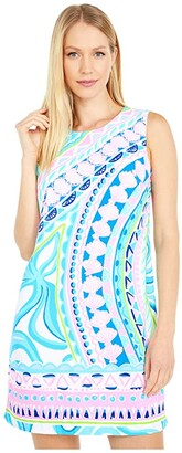 Lilly Pulitzer Narissa Stretch Shift (Multi Coco Island Engineered) Women's Dress