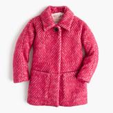 J.Crew Girls' diamond tweed coat