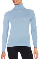Lord & Taylor Merino Wool Turtleneck Sweater