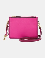 Fossil Campbell Pink Crossbody