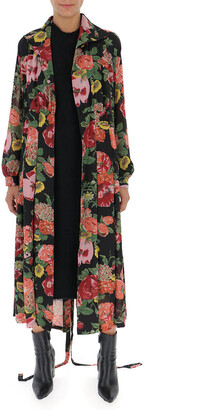 Junya Watanabe Double Layer Floral Print Dress