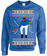 Allntrends Adult Crewneck 1-800 Hotline Bling Ugly Christmas Sweater (2XL, )