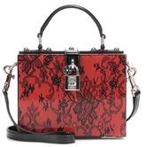 Dolce & Gabbana Dolce Embellished Box Clutch