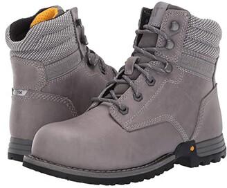 Caterpillar Paisley 6 Steel Toe (Dolphin Full Grain Leather) Women's Work Boots
