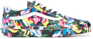 Kenzo x Vans floral print Old Skool sneakers
