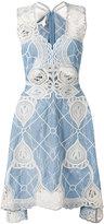 Jonathan Simkhai asymmetric sleeveless dress - women - Cotton - 8