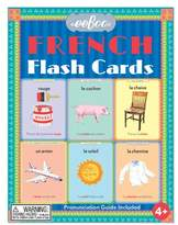 Eeboo Set of 56 French Flash Cards