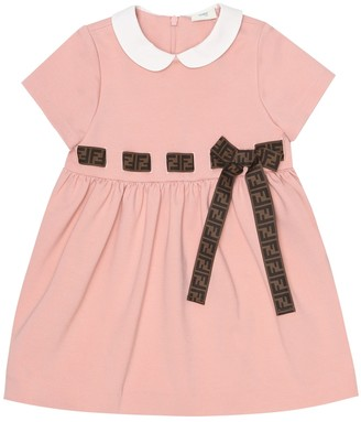 Fendi Baby stretch-jersey dress