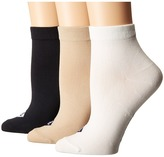 Sperry Anklets 3-pack Women's Low Cut Socks Shoes