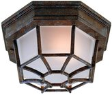 Savoy House -2066-72, Exterior Collections 1 light Flush Mount in