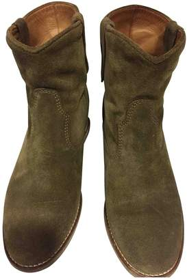Etoile Isabel Marant Camel Suede Ankle boots