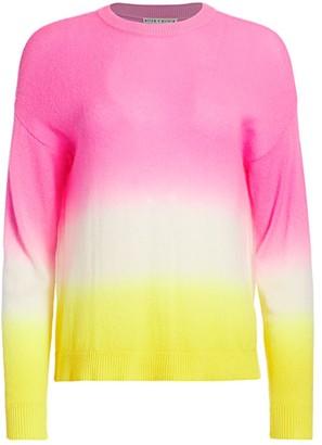 Alice + Olivia Gleeson Dip-Dye Pullover