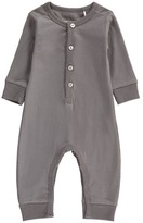 Imps & Elfs Organic Cotton Button-Up Romper