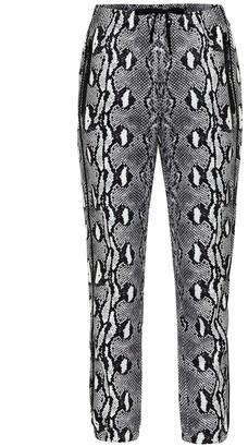 Adam Selman Snake-print leggings