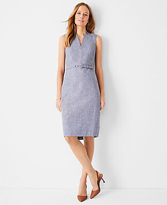 Ann Taylor The Belted Sheath Dress