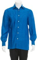 Kiton Linen Button-Up Shirt w/ Tags