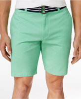 Club Room Men's Flat-Front Cotton Shorts, Only at Macy's