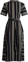 Ace&Jig Margaret striped cotton dress