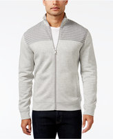 Alfani Men's Big and Tall Mock Collar Full-Zip Sweater-Jacket, Only at Macy's