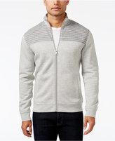 Alfani Men's Mock Collar Full-Zip Sweater-Jacket, Only at Macy's