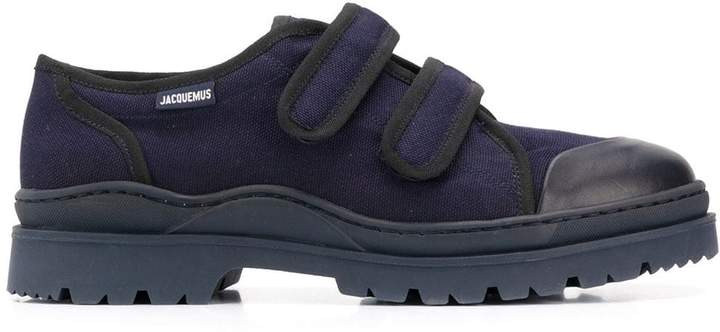 Jacquemus double-strap sneakers