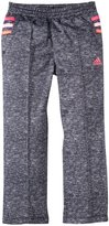 adidas Tumble Track Pants (Toddler/Kid) - Dark Gray-6
