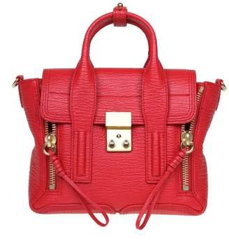 3.1 Phillip Lim Phillip Lim Mini Pashli Leather Bag In Red Leather