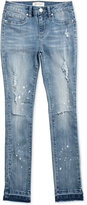 Jessica Simpson Distressed Skinny Jeans, Big Girls (7-16)