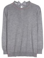 Miu Miu Embellished virgin wool sweater
