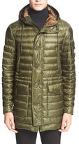 Moncler 'Benjamin' Channel Quilted Down Parka