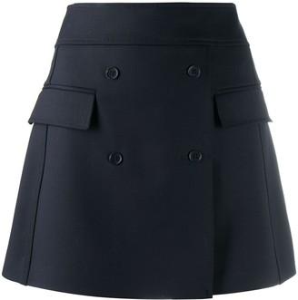 P.A.R.O.S.H. A-line mini skirt