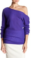 Minnie Rose Row V-Neck Cashmere Sweater