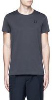 Acne Studios 'Standard Face' emoji patch cotton T-shirt