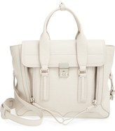 3.1 Phillip Lim 'Medium Pashli' Shark Embossed Leather Satchel