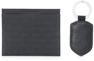 Emporio Armani All Over Logo Wallet