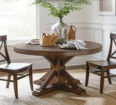 Pottery Barn Benchwright Fixed Pedestal Dining Table