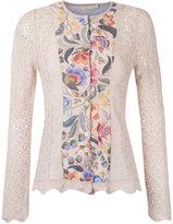 Cecilia Prado knit cardigan - women - Acrylic/Viscose - P