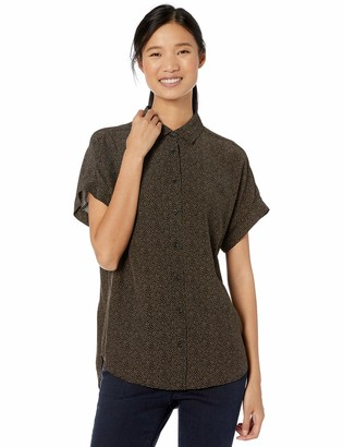 Goodthreads Amazon Brand Women's Viscose Short-Sleeve Shirt