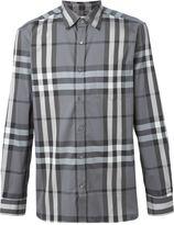 Burberry checked shirt - men - Cotton/Polyamide/Spandex/Elastane - XXL