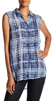 Casual Studio Block Print Sleeveless Tunic