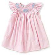 Edgehill Collection Baby Girls 3-24 Months Elephant Smocked Dress
